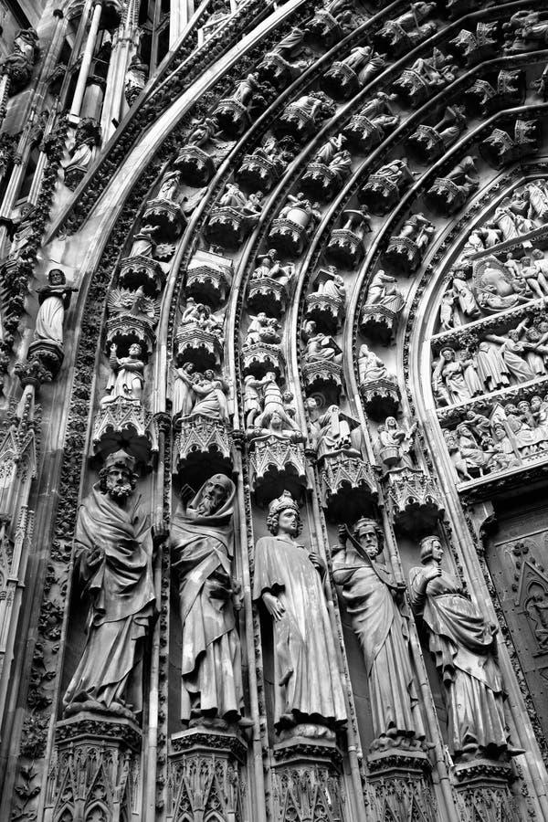 katedralny Strasbourg obraz stock