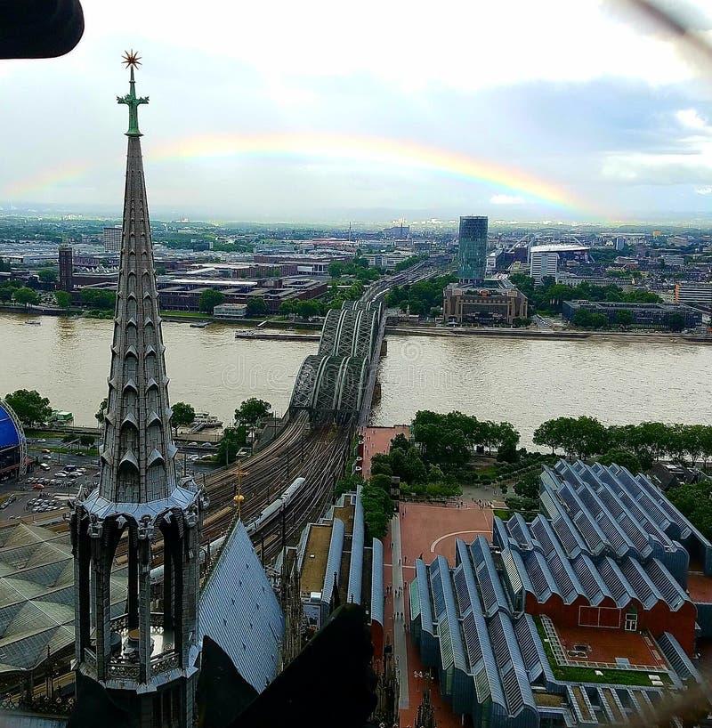 Katedralny widok zdjęcie royalty free