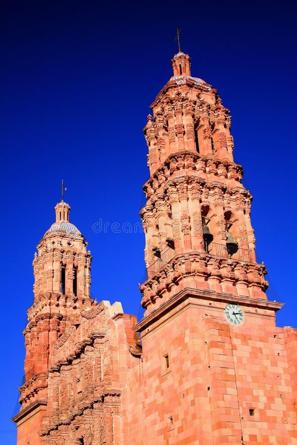 katedralny Zacatecas zdjęcia royalty free