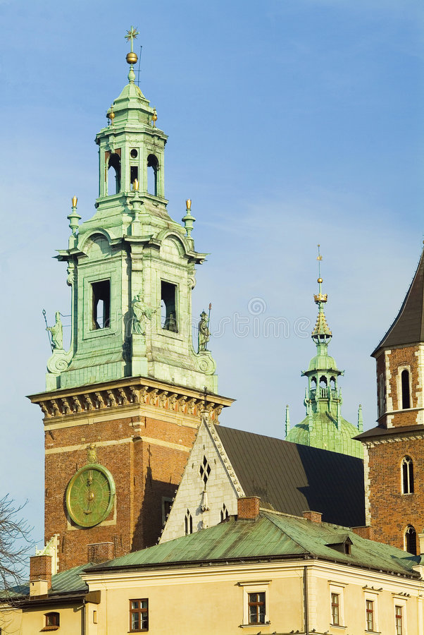 katedry s tower obraz stock