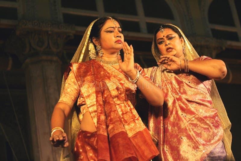 Kathak Dance-Pandit Birju Maharaj group stock images