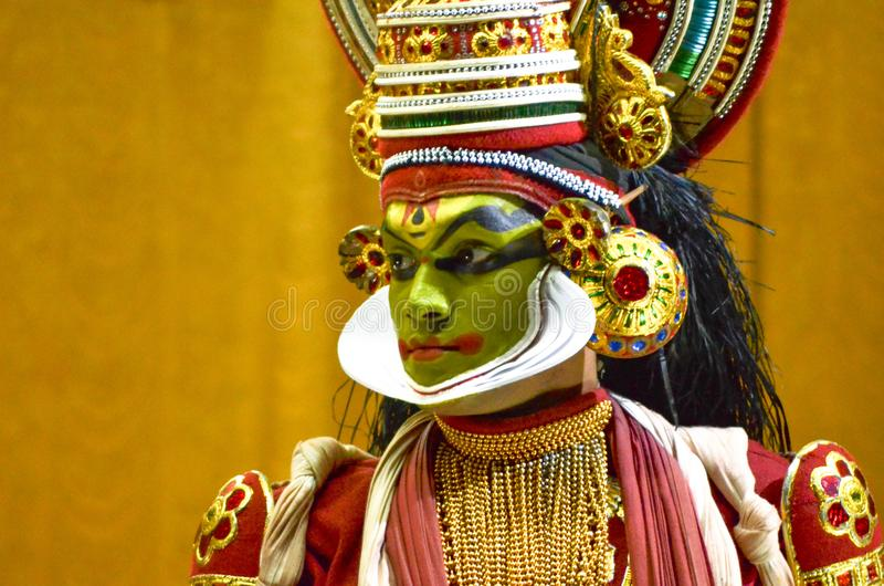 Kathakali royaltyfri bild