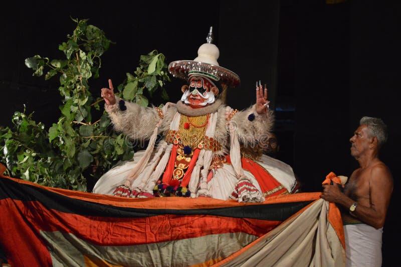 Kathakali photo libre de droits