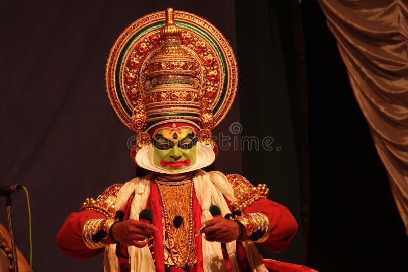 Kathakali fotografering för bildbyråer