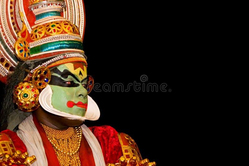 Kathakali dancer royalty free stock photography