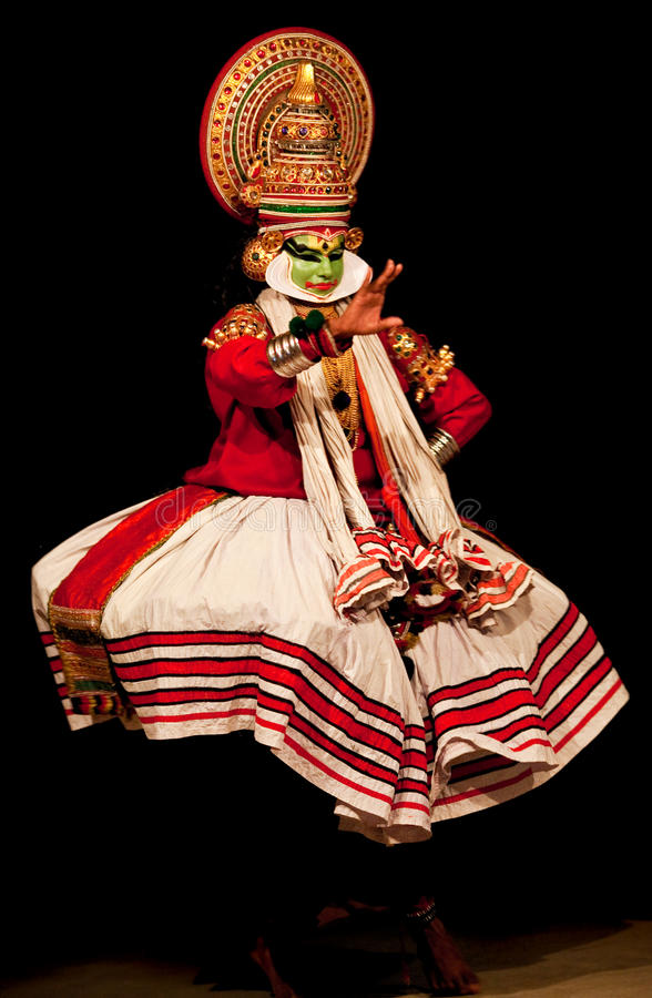 Kathakali performer royalty free stock photos