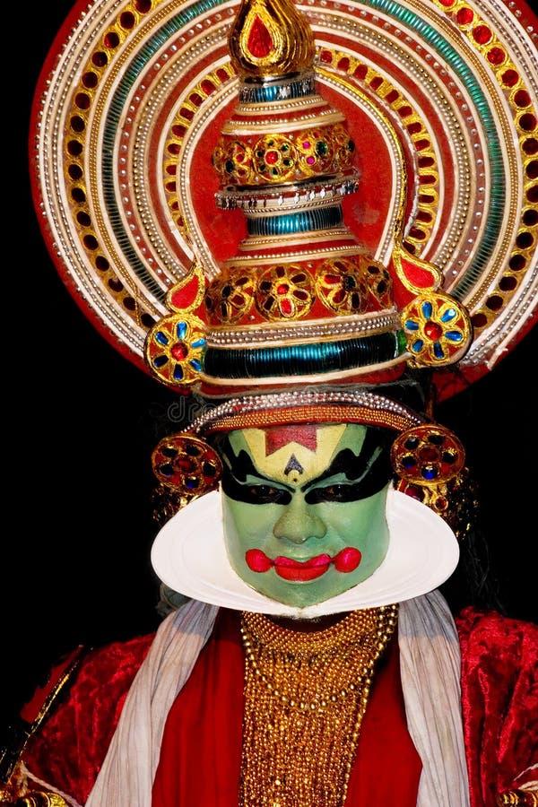 Kathakali tradional dance actor stock photography