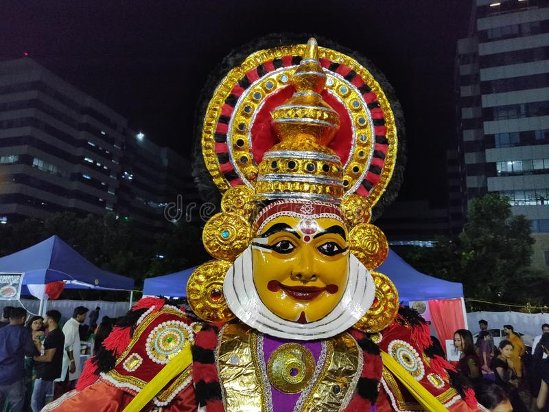 Kathakali fotos de stock