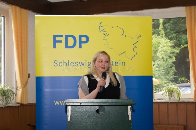 Katharina Weinert stock foto