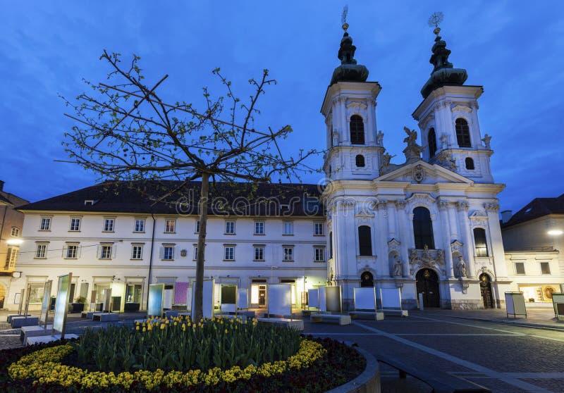 Katharinenkirche в Граце стоковая фотография