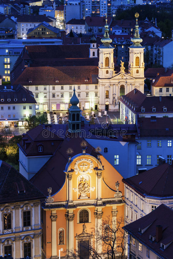 Katharinenkirche стоковая фотография rf