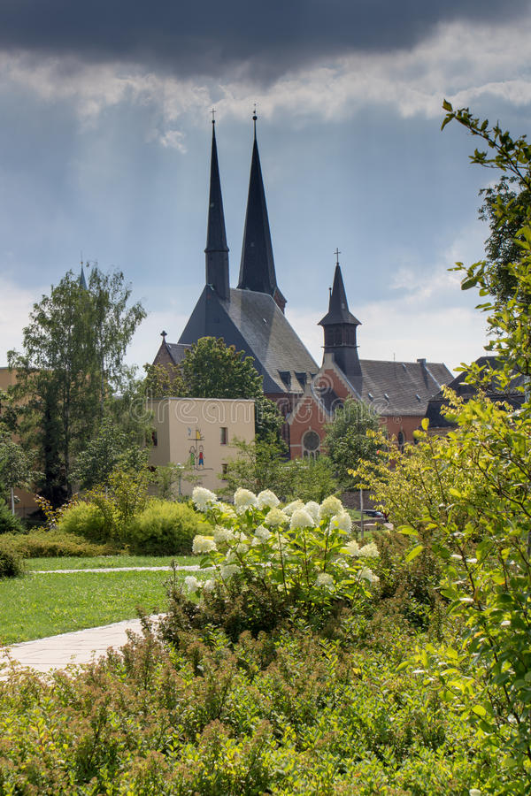 Katharinenkirche, Zwickau royalty-vrije stock foto's
