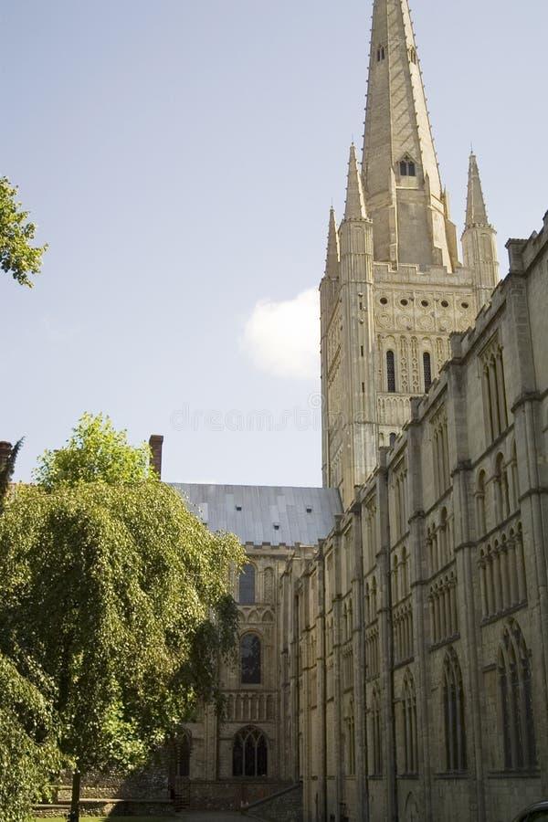 Kathedraal 2 van Norwich royalty-vrije stock foto