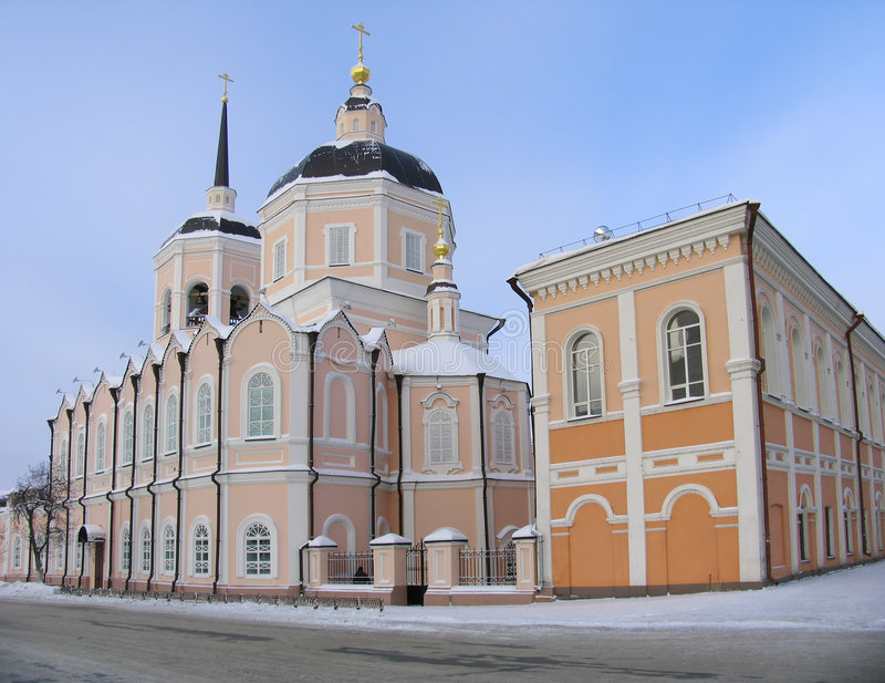 Kathedraal. royalty-vrije stock afbeelding