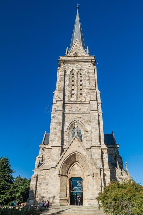 Kathedraal in Bariloche, Argentinië royalty-vrije stock foto
