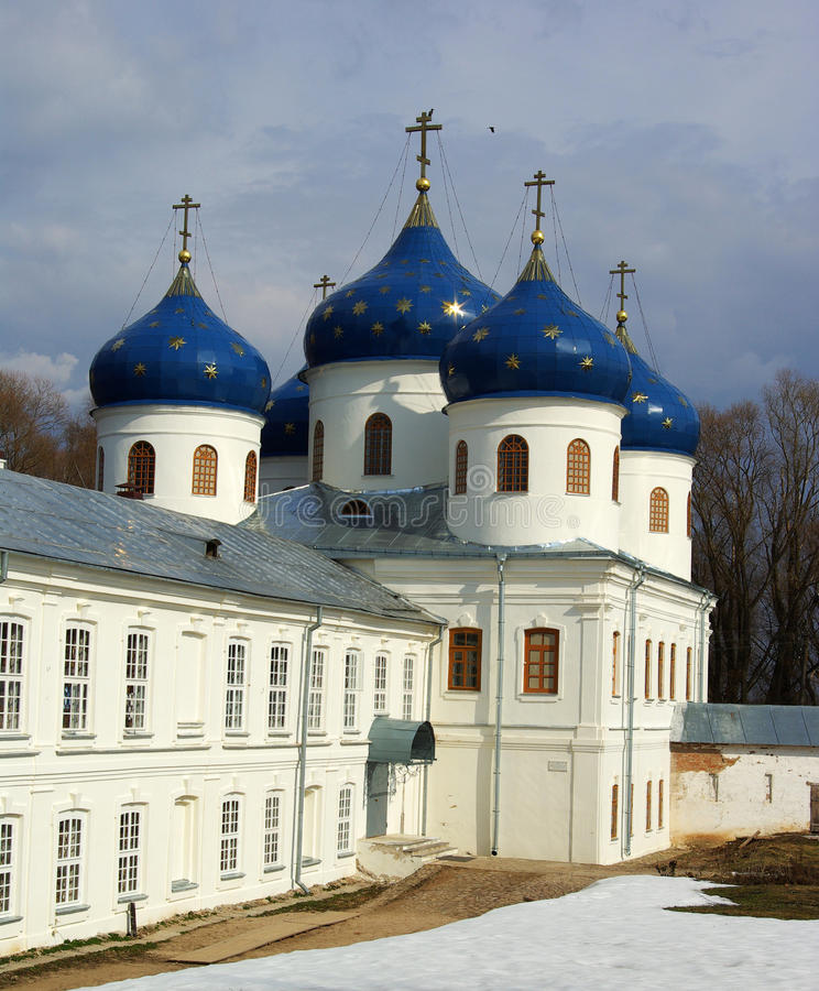 Kathedraal bij St `George klooster royalty-vrije stock foto
