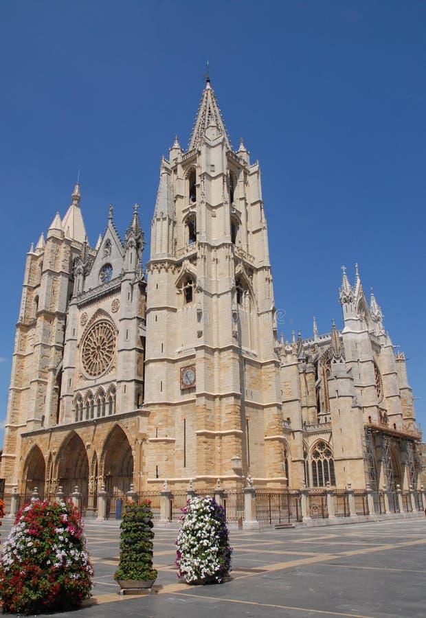 Kathedraal in de Hemel royalty-vrije stock fotografie