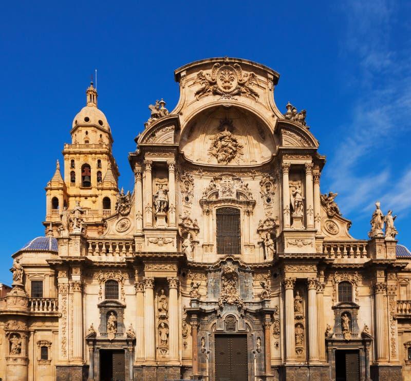 Kathedraal DE Santa Maria. Murcia stock fotografie