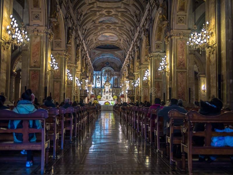 Kathedraal DE Santiago royalty-vrije stock foto