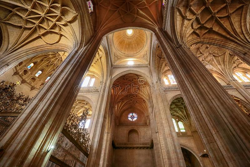 Kathedraal DE Segovia, Segovia, Spanje royalty-vrije stock afbeelding