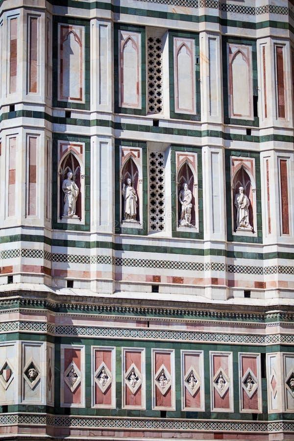 Kathedraal in Florence, Toscanië, Italië royalty-vrije stock afbeeldingen