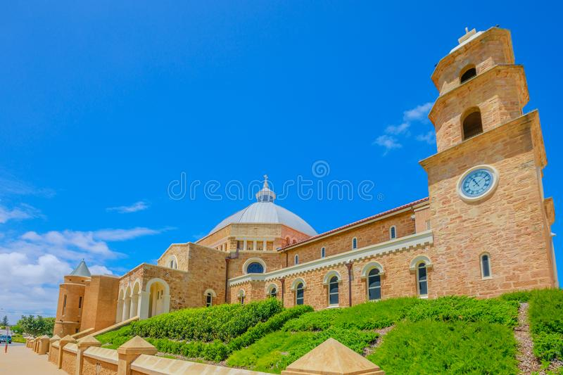Kathedraal Geraldton WA stock foto