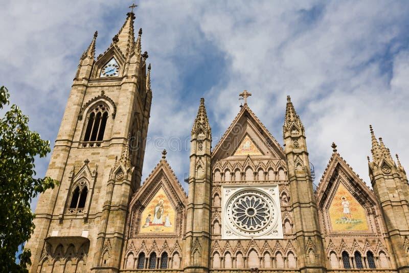 Kathedraal in Guadalajara Mexico stock foto's