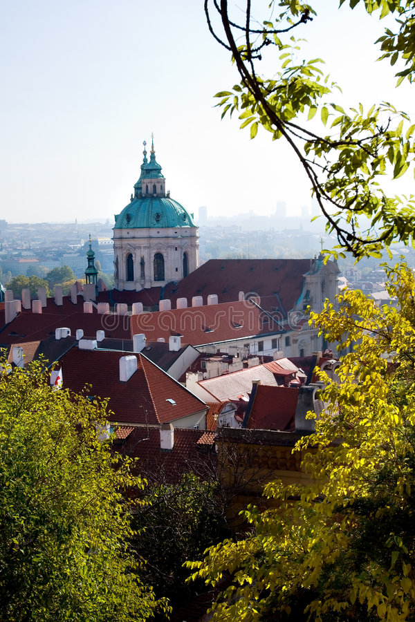 Kathedraal in Hradcany royalty-vrije stock foto