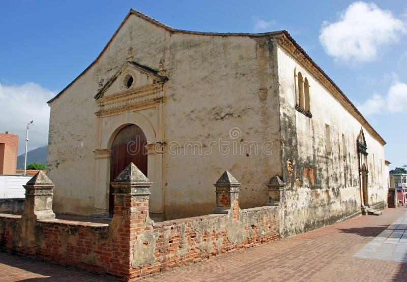 Kathedraal, La Asuncion, Isla Margarita, Venezuela stock foto