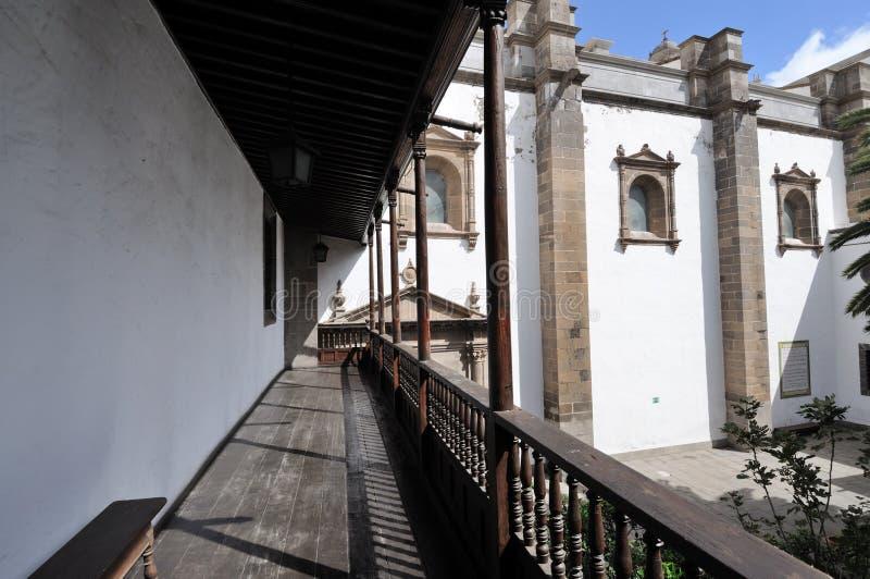 Kathedraal in Las Palmas, Spanje stock foto's