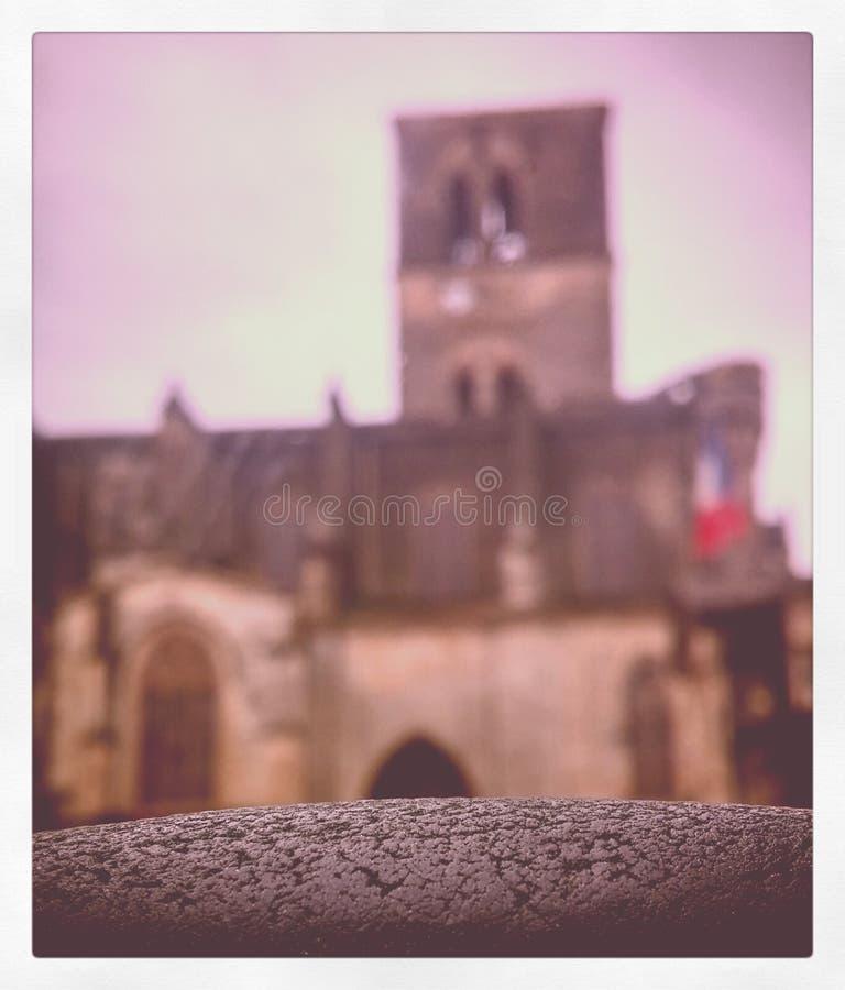 Kathedraal in Lodeve stock fotografie