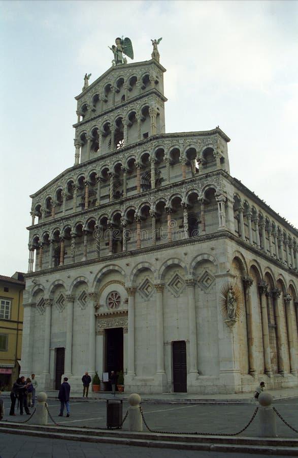 Kathedraal, Luca, Italië stock afbeelding