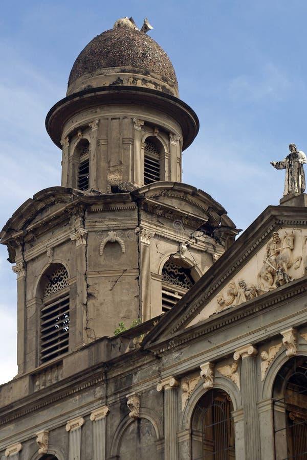 Kathedraal, Managua, Nicaragua stock afbeeldingen