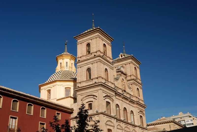 Kathedraal in Murcia stock fotografie