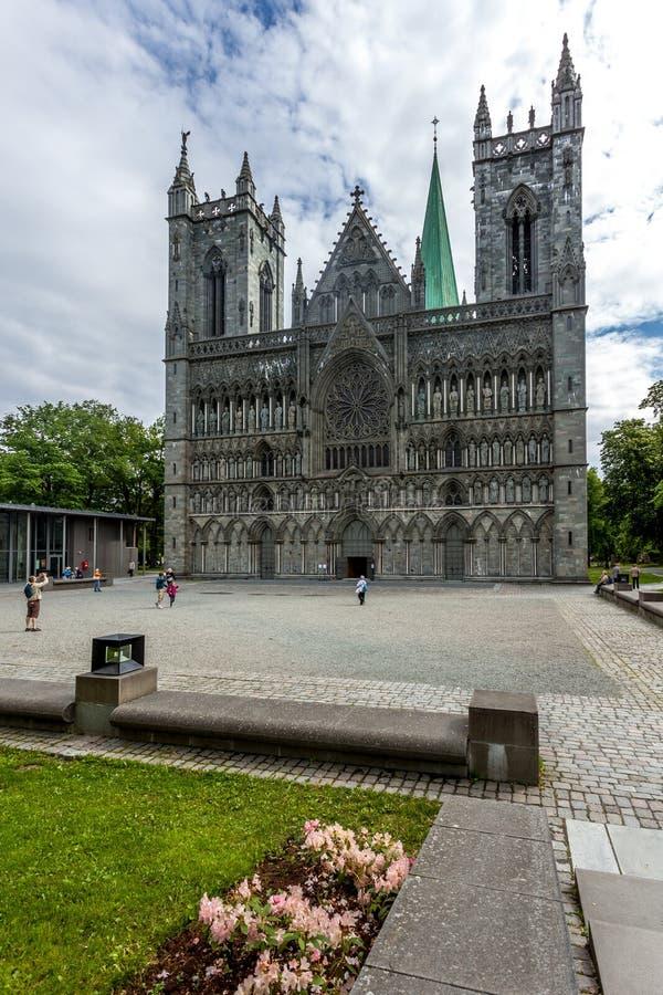 Kathedraal Nidaros royalty-vrije stock foto