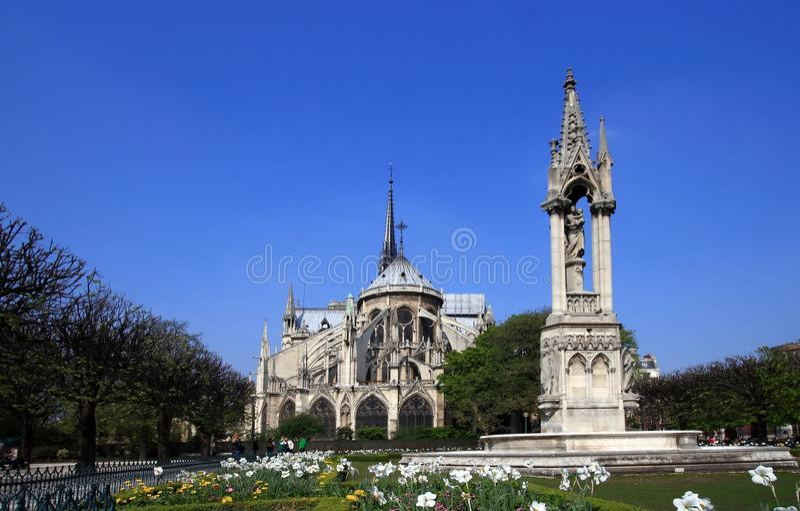 Kathedraal Notre Dame royalty-vrije stock fotografie