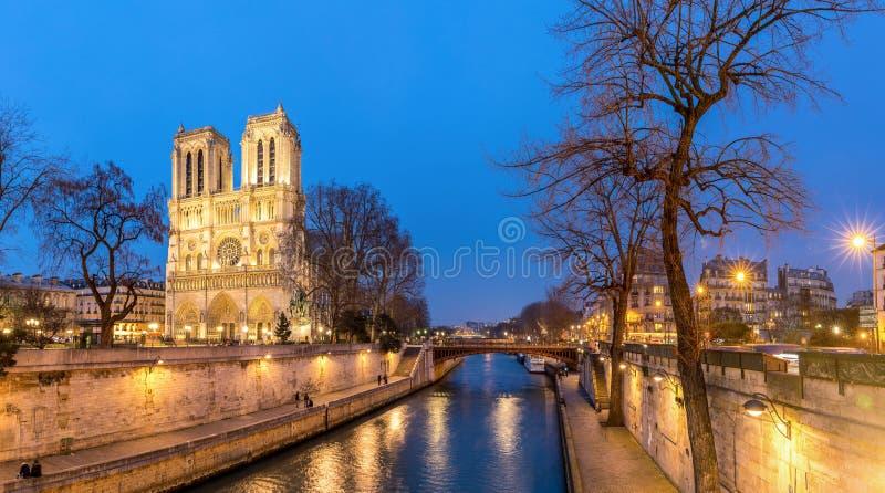 Kathedraal Notre Dame Paris royalty-vrije stock afbeeldingen