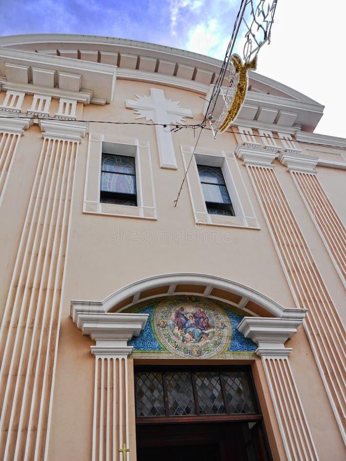 Kathedraal op de Rots van Gibraltar stock fotografie