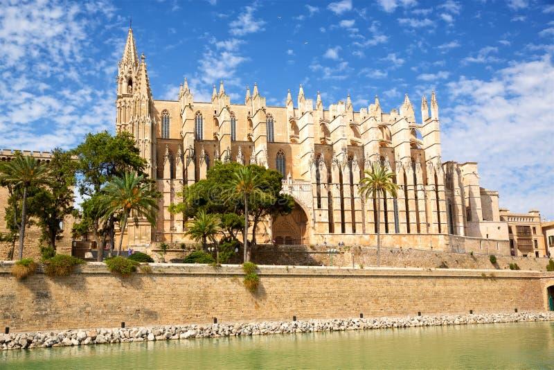 Kathedraal in Palma de Mallorca royalty-vrije stock foto