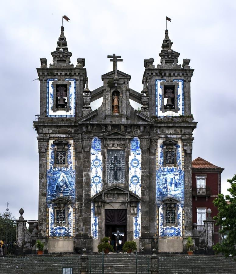 Kathedraal in Porti stock afbeelding