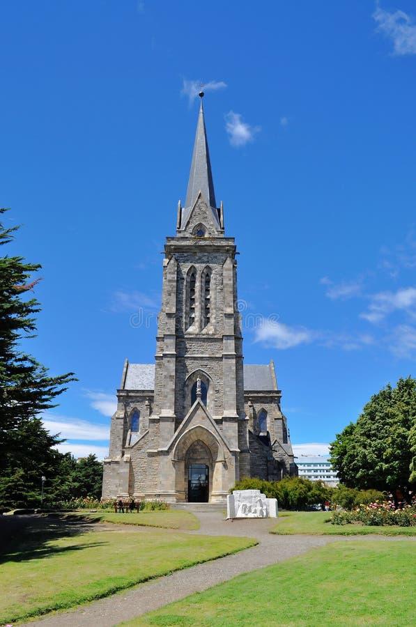 Kathedraal in San Carlos de Bariloche stock fotografie