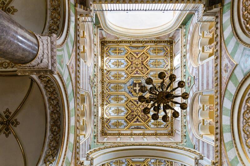 Kathedraal Santa Maria Annunziata in Altamura royalty-vrije stock foto's