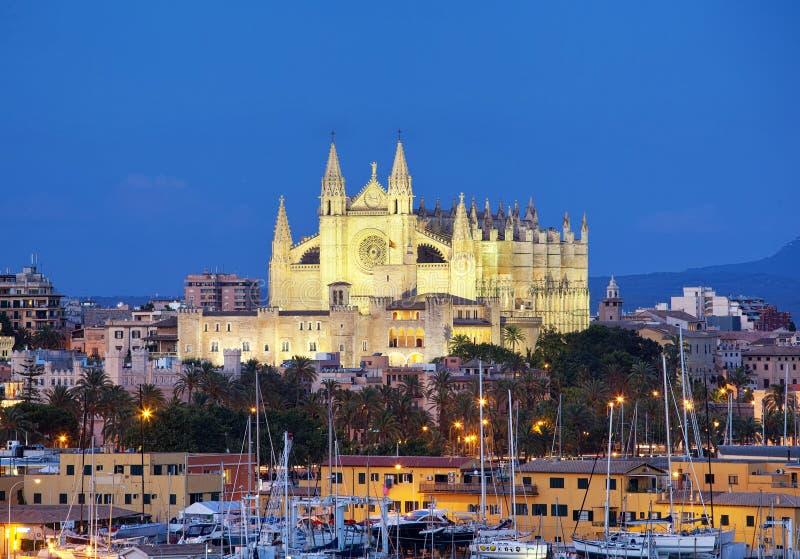 Kathedraal Seu Seo van Palma de Mallorca royalty-vrije stock fotografie
