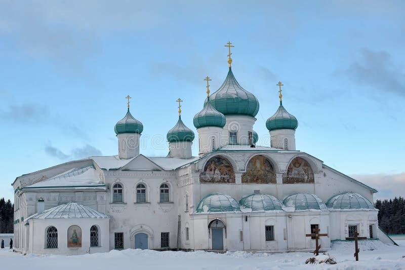 Kathedraal spaso-Preobrazhenskiy stock fotografie