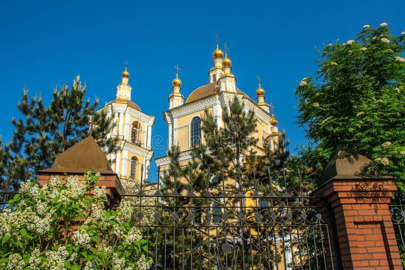 Kathedraal spaso-Preobrazhensky stock foto's