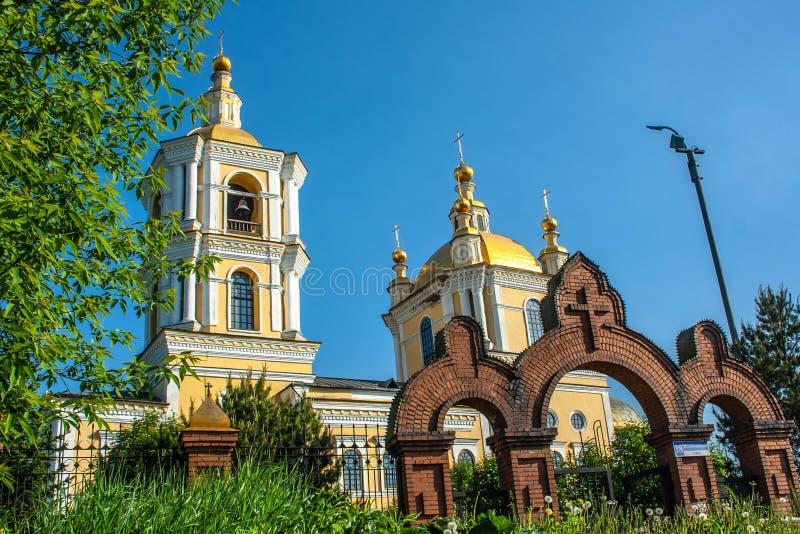 Kathedraal spaso-Preobrazhensky royalty-vrije stock foto