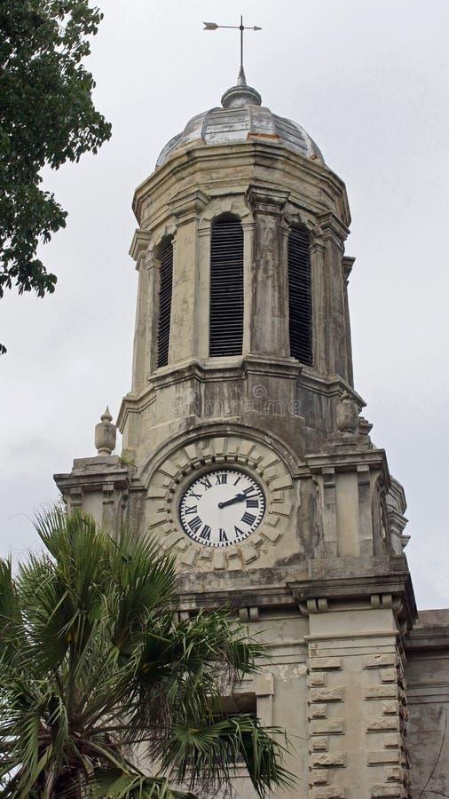Kathedraal, St. Johns, Antigua en Barbuda royalty-vrije stock afbeeldingen