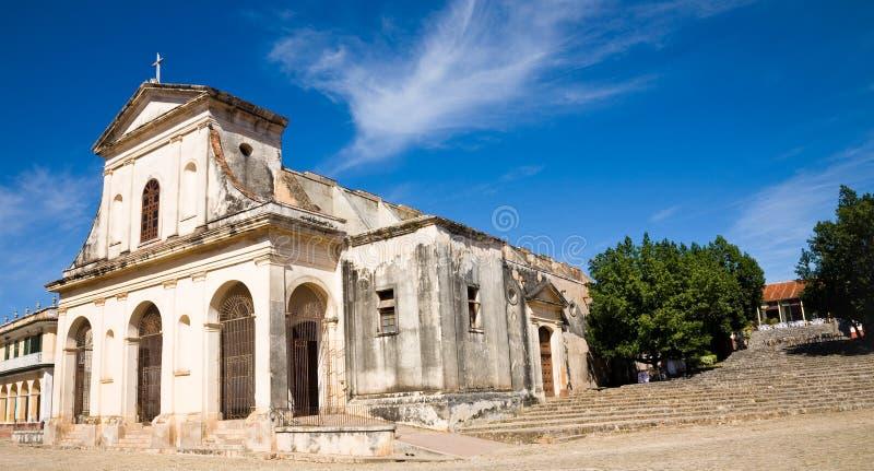 Kathedraal, Trinidad, Cuba royalty-vrije stock foto's