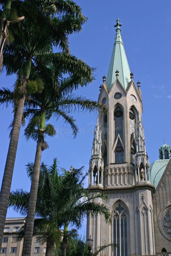 Kathedraal van Aalmoezenier Jose Anchieta royalty-vrije stock foto's