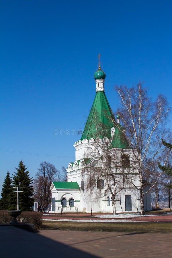 Kathedraal van Aartsengel Michael royalty-vrije stock afbeeldingen